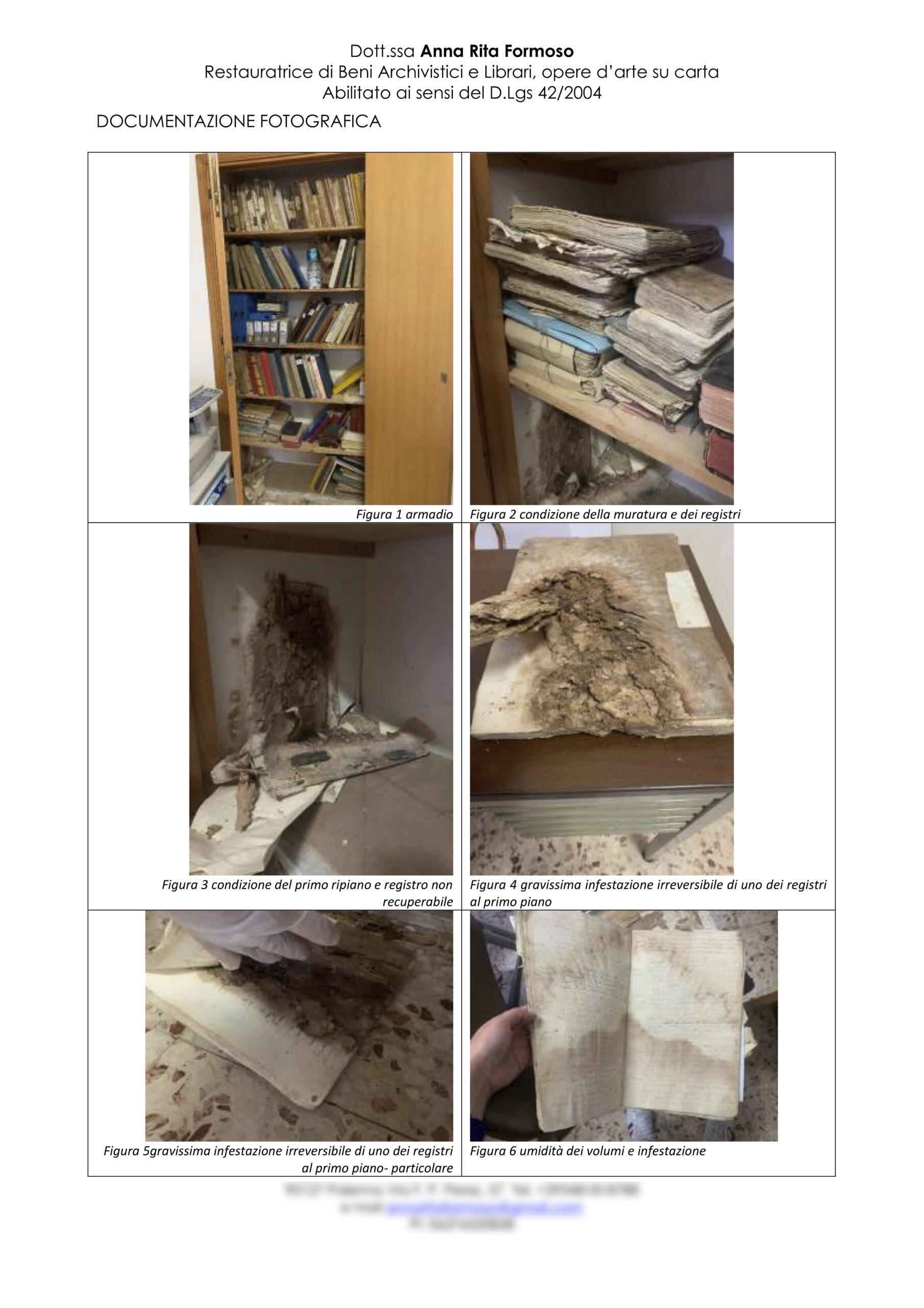 Relazione Archivio chiesa Madonna del Carmelo Grotte